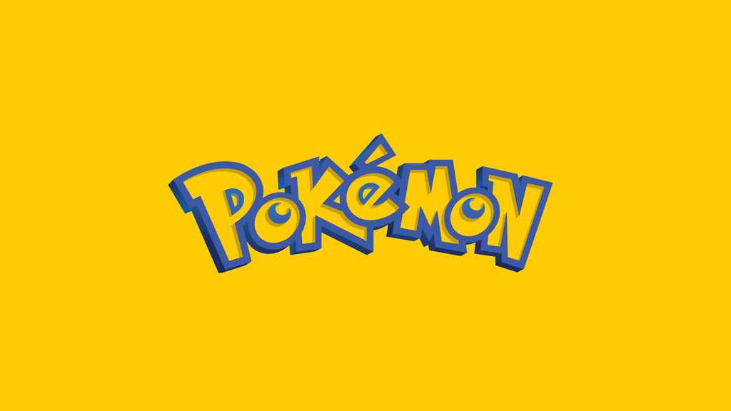pokemon logo wallpaper by simplewallpapers d5yo2e6