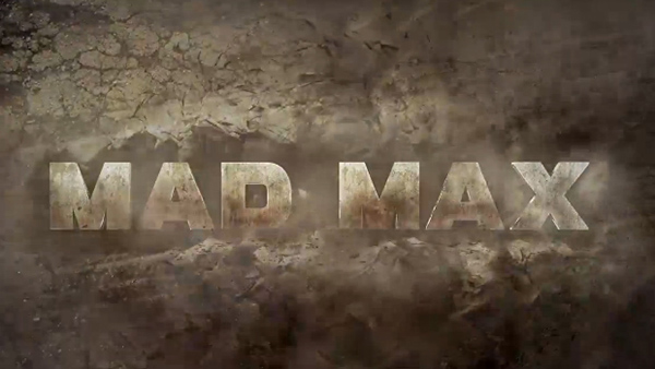 Mad Max title excerpt from end of E3 2013 trailer reveal during Sony press conference